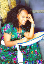 Beautiful Young lady from Tigrai